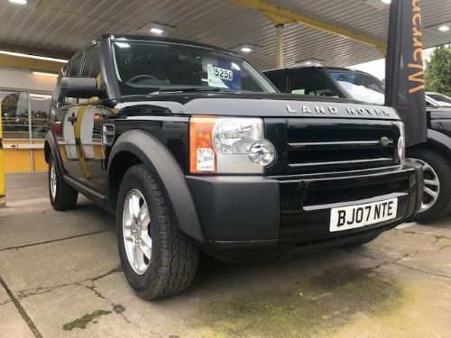 ***SOLD***Discovery 3 TDV6 2.7 GS Manual 2007***SOLD***
